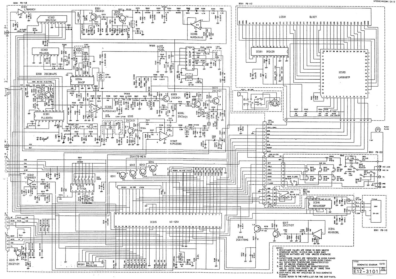 HR2600 CPU Board Schematic Diagram,